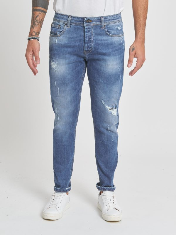 Jeans skinny scuro